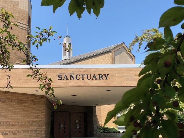 Sanctuary door exterior photo