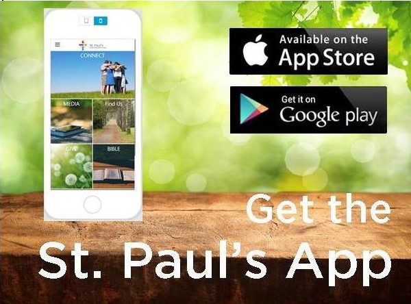 Get the St. Paul's app logo