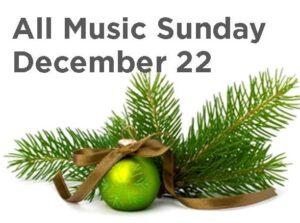 All Music Sunday