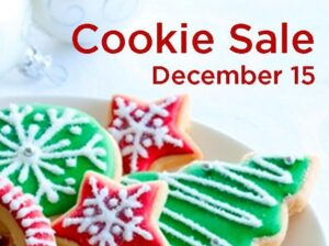 Christmas Cookie Sale @ Narthex and Hickey Hall