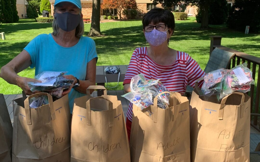 St. Paul's makes 715 masks for Back to School