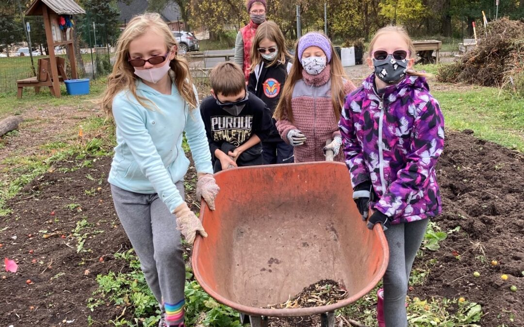 Club 45 Harvests Community Garden