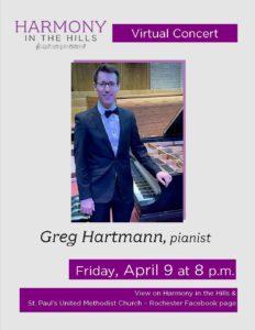 Virtual Concert -Greg Hartmann