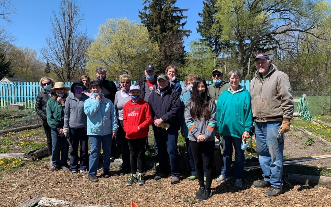 Community Garden Spring Clean up and Planting